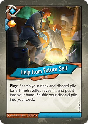 Card image for Help from Future Self