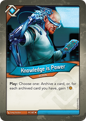 Card image for Knowledge is Power