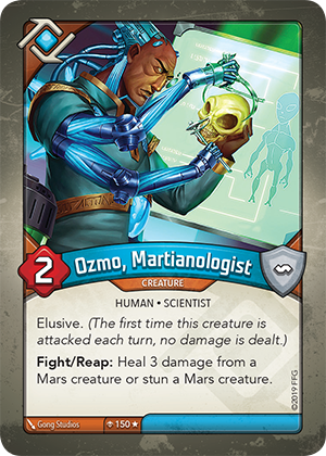 Card image for Ozmo, Martianologist