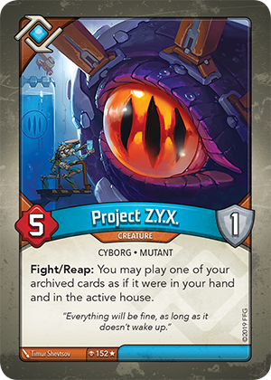 Card image for Project Z.Y.X.