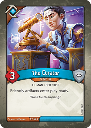 Card image for The Curator