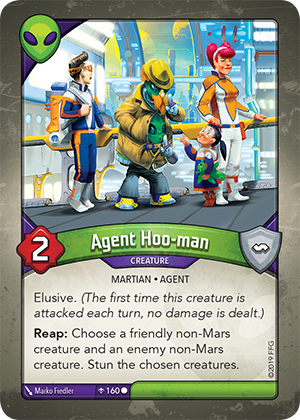 Card image for Agent Hoo-man