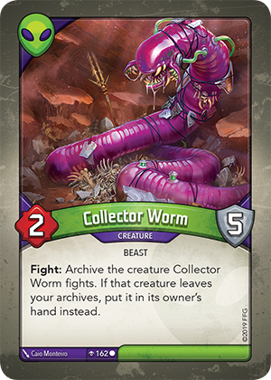 Card image for Collector Worm