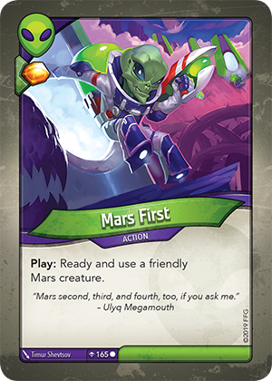 Card image for Mars First