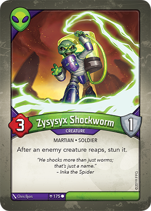 Card image for Zysysyx Shockworm