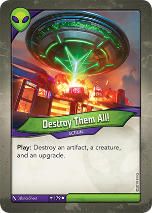 Card image for Destroy Them All!