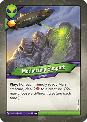 Card image for Mothership Support