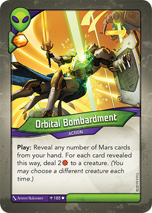Card image for Orbital Bombardment