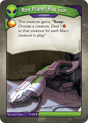 Card image for Red Planet Ray Gun