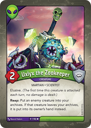 Card image for Uxlyx the Zookeeper