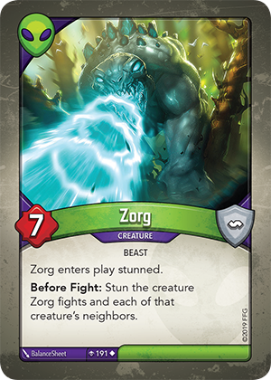 Card image for Zorg