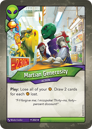 Card image for Martian Generosity