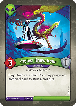 Card image for Yzphyz Knowdrone