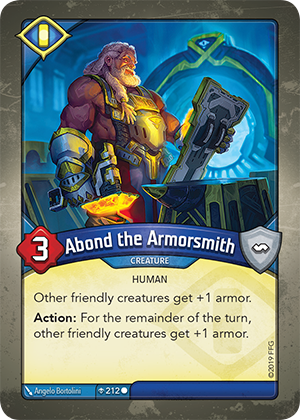 Card image for Abond the Armorsmith
