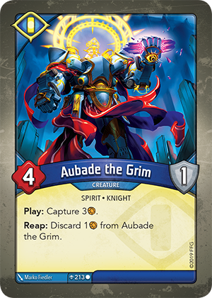 Card image for Aubade the Grim