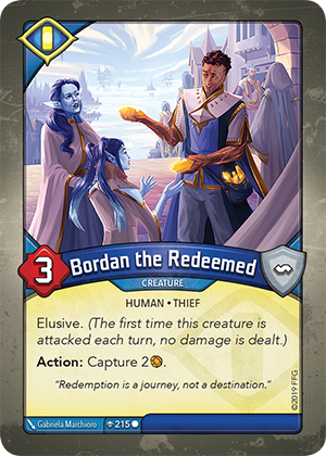 Card image for Bordan the Redeemed