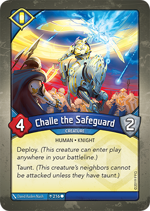 Card image for Challe the Safeguard