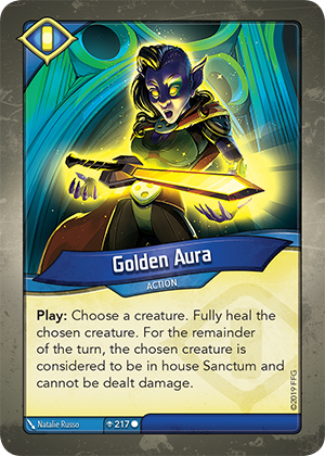 Card image for Golden Aura