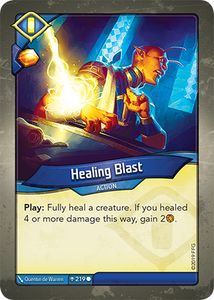 Card image for Healing Blast