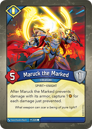 Card image for Maruck the Marked