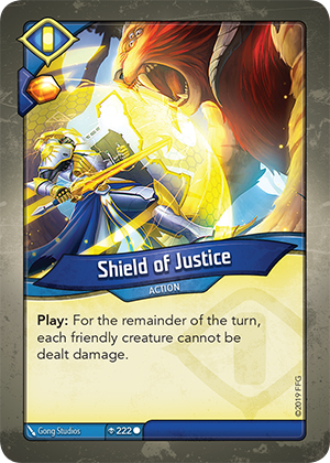 Card image for Shield of Justice