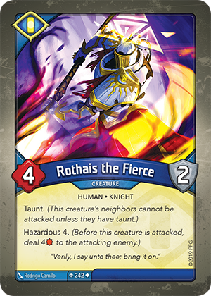Card image for Rothais the Fierce