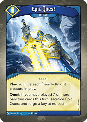 Card image for Epic Quest
