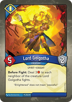 Card image for Lord Golgotha