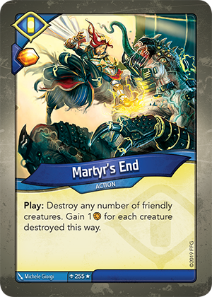 Card image for Martyr's End