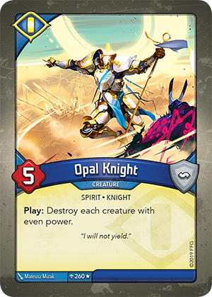 Card image for Opal Knight