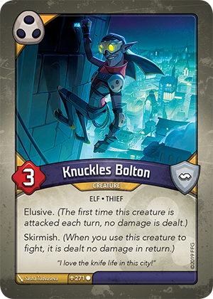 Card image for Knuckles Bolton