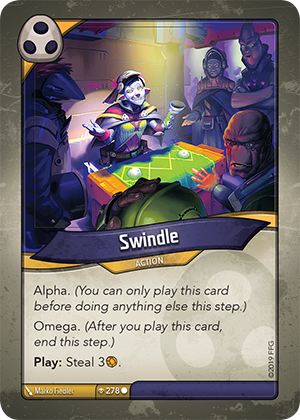 Card image for Swindle