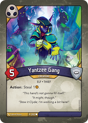 Card image for Yantzee Gang