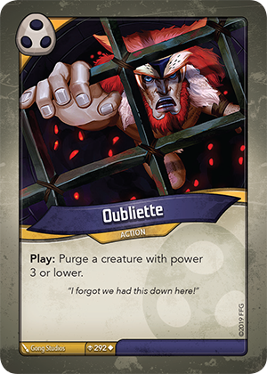 Card image for Oubliette