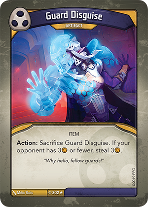 Card image for Guard Disguise
