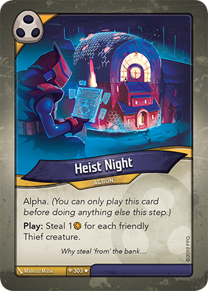 Card image for Heist Night