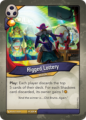 Card image for Rigged Lottery