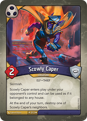 Card image for Scowly Caper