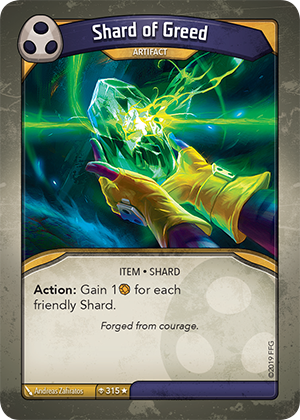 Card image for Shard of Greed
