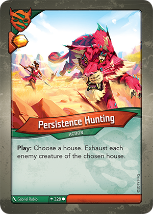 Card image for Persistence Hunting