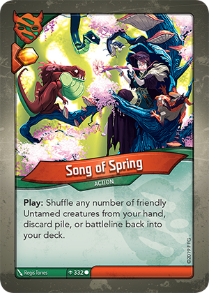 Card image for Song of Spring