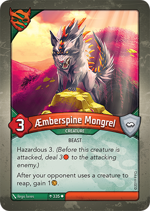 Card image for Æmberspine Mongrel