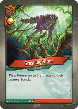 Card image for Grasping Vines