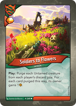 Card image for Soldiers to Flowers