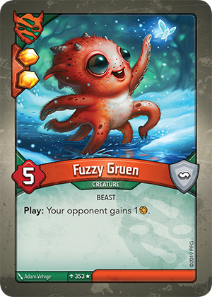 Card image for Fuzzy Gruen