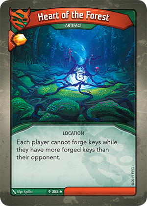 Card image for Heart of the Forest