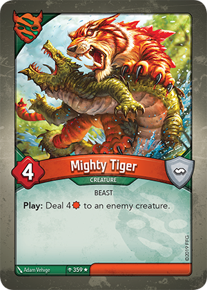 Card image for Mighty Tiger