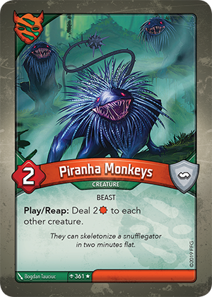 Card image for Piranha Monkeys