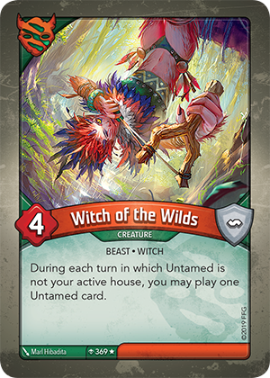 Card image for Witch of the Wilds